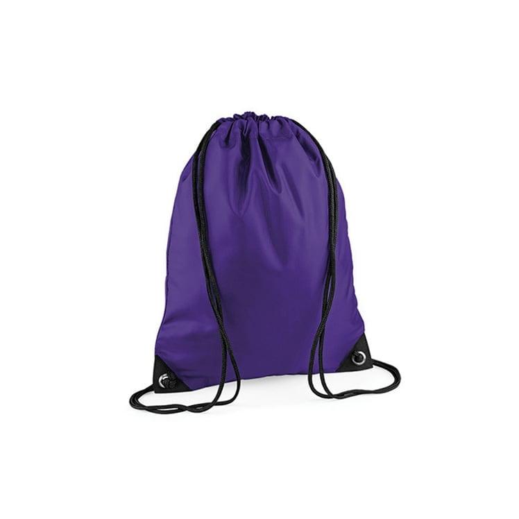 Torby i plecaki - Worek festiwalowy Premium - BG10 - Purple - RAVEN - koszulki reklamowe z nadrukiem, odzież reklamowa i gastronomiczna