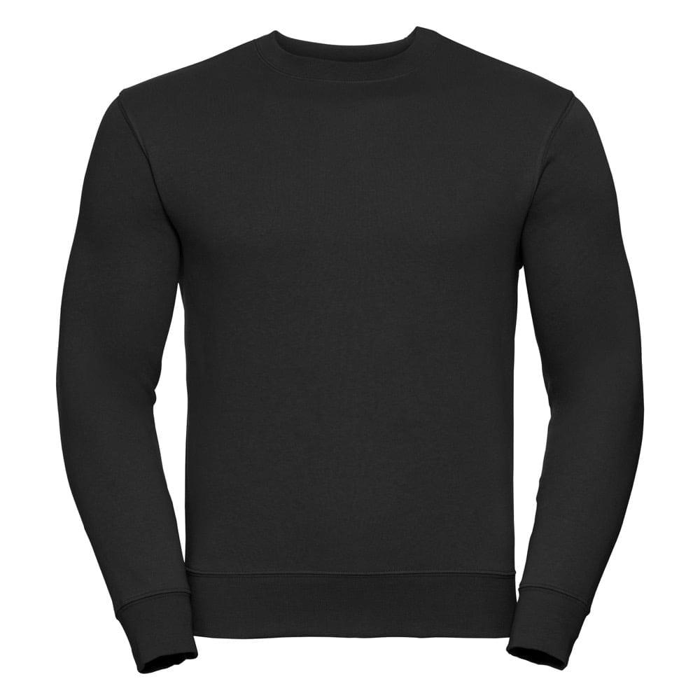 Bluzy - Bluza Crewneck Authentic - Russell R-262M-0 - Black - RAVEN - koszulki reklamowe z nadrukiem, odzież reklamowa i gastronomiczna