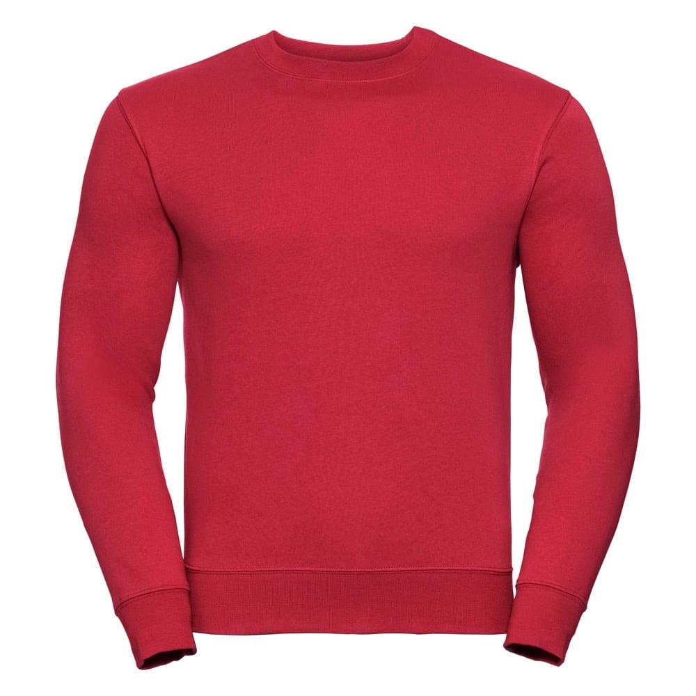 Bluzy - Bluza Crewneck Authentic - Russell R-262M-0 - Classic Red - RAVEN - koszulki reklamowe z nadrukiem, odzież reklamowa i gastronomiczna