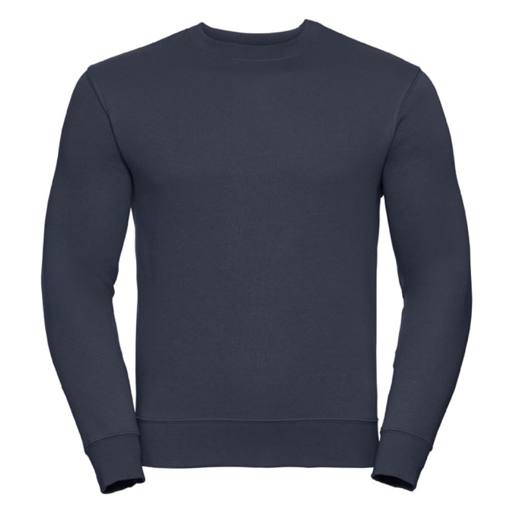 Bluzy - Bluza Crewneck Authentic - Russell R-262M-0 - French Navy - RAVEN - koszulki reklamowe z nadrukiem, odzież reklamowa i gastronomiczna