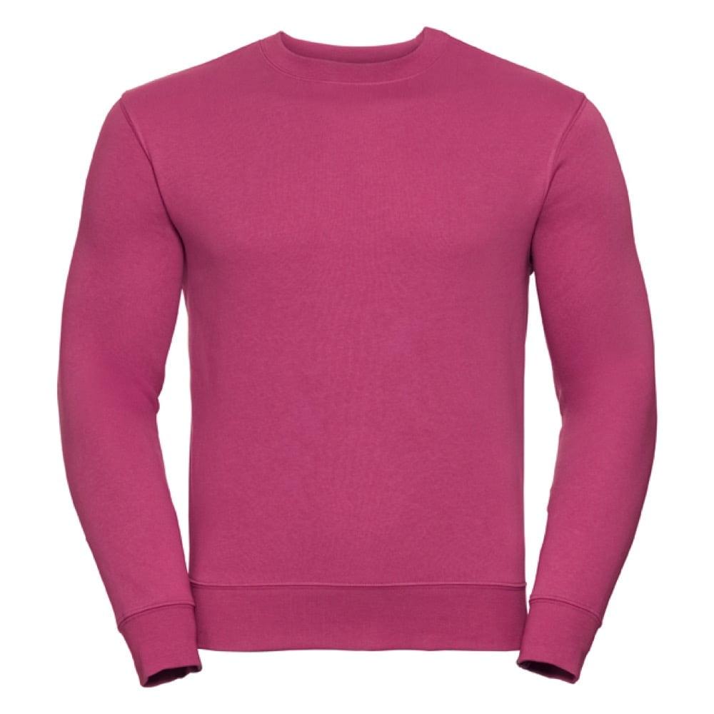 Bluzy - Bluza Crewneck Authentic - Russell R-262M-0 - Fuchsia - RAVEN - koszulki reklamowe z nadrukiem, odzież reklamowa i gastronomiczna