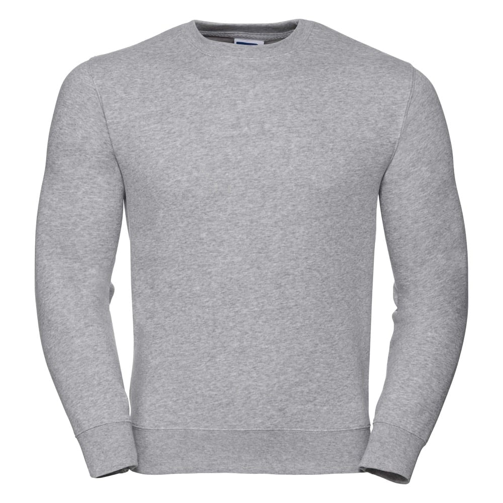 Bluzy - Bluza Crewneck Authentic - Russell R-262M-0 - Heather Grey - RAVEN - koszulki reklamowe z nadrukiem, odzież reklamowa i gastronomiczna