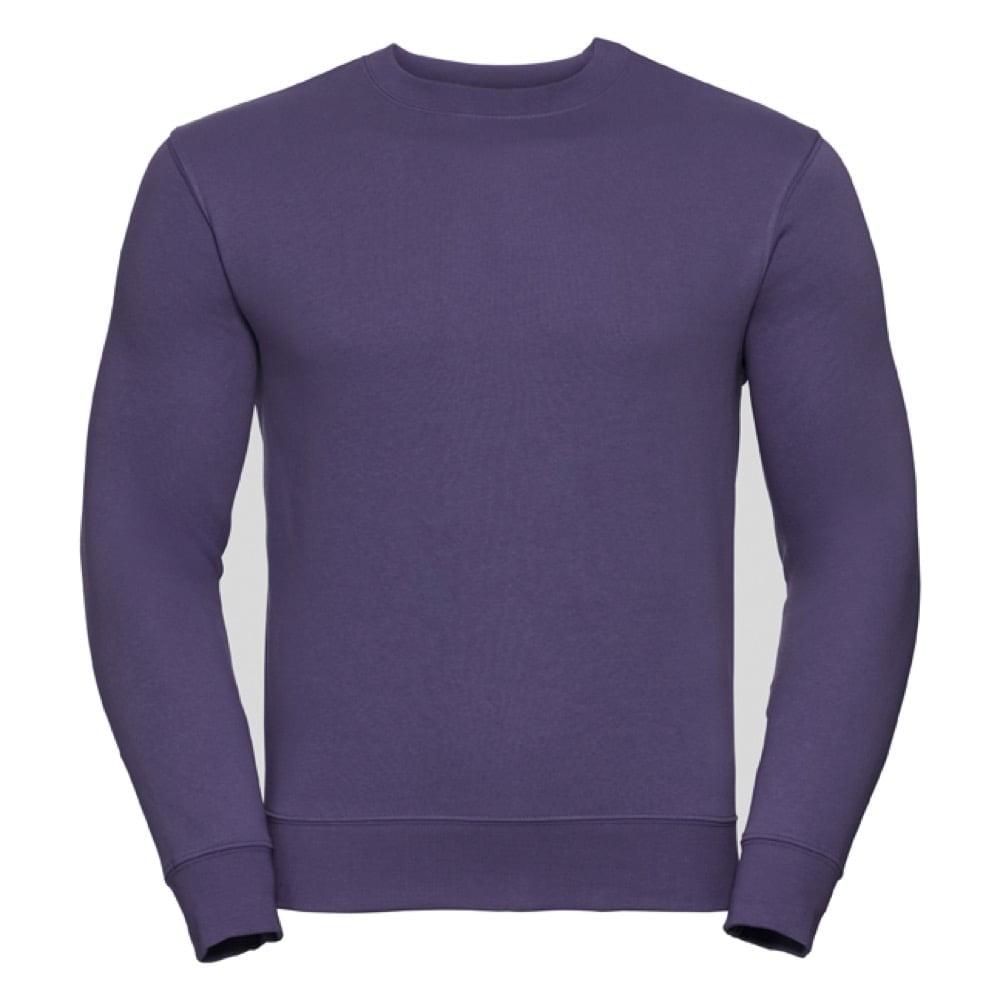 Bluzy - Bluza Crewneck Authentic - Russell R-262M-0 - Purple - RAVEN - koszulki reklamowe z nadrukiem, odzież reklamowa i gastronomiczna