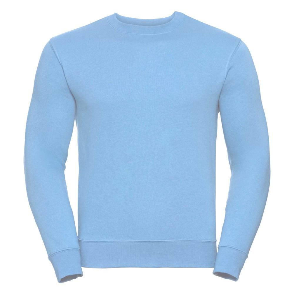 Bluzy - Bluza Crewneck Authentic - Russell R-262M-0 - Sky  - RAVEN - koszulki reklamowe z nadrukiem, odzież reklamowa i gastronomiczna