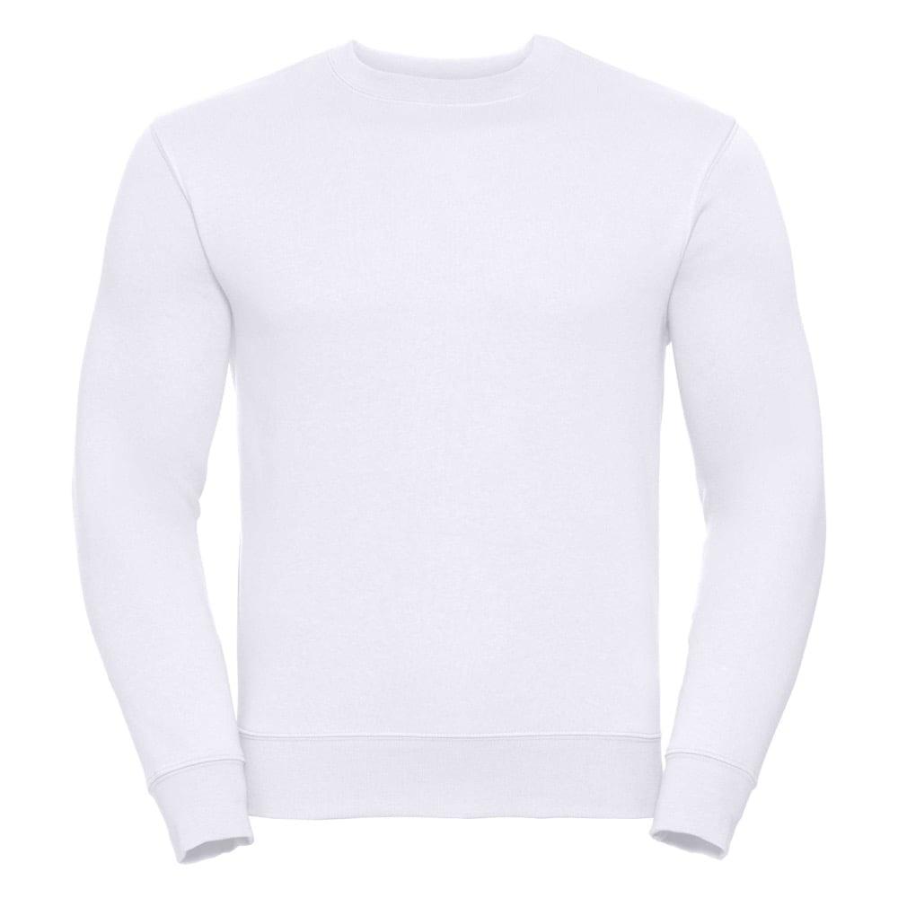 Bluzy - Bluza Crewneck Authentic - Russell R-262M-0 - White - RAVEN - koszulki reklamowe z nadrukiem, odzież reklamowa i gastronomiczna