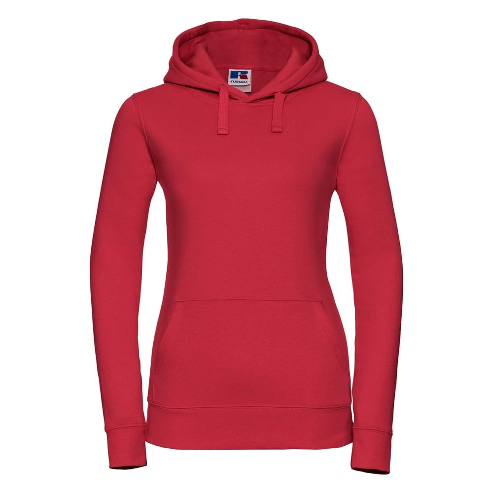 Bluzy - Damska bluza bez zamka Authentic - Russell R-265F-0 - Classic Red - RAVEN - koszulki reklamowe z nadrukiem, odzież reklamowa i gastronomiczna