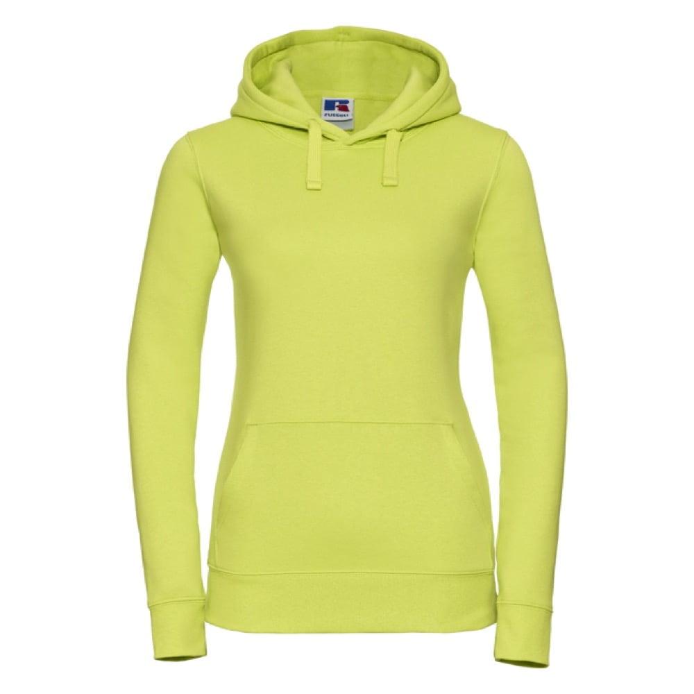 Bluzy - Damska bluza bez zamka Authentic - Russell R-265F-0 - Lime - RAVEN - koszulki reklamowe z nadrukiem, odzież reklamowa i gastronomiczna