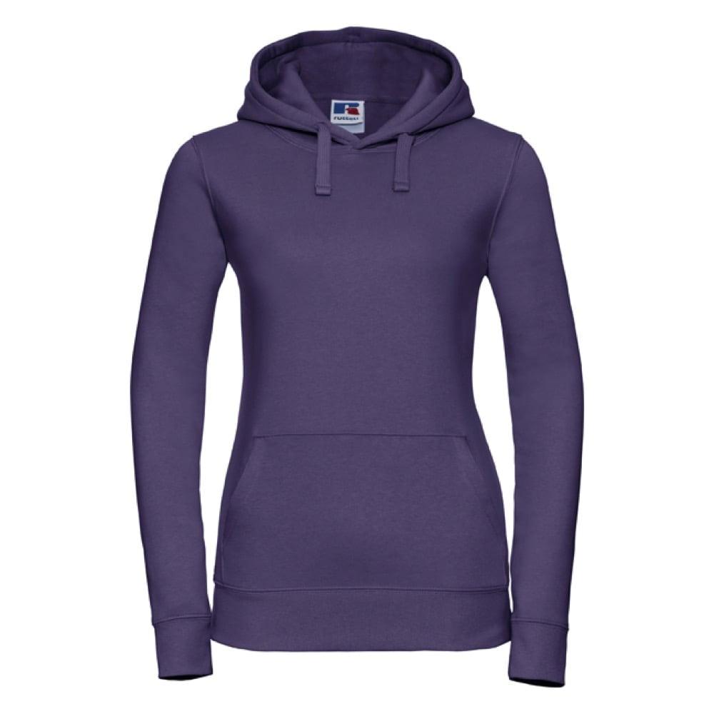 Bluzy - Damska bluza bez zamka Authentic - Russell R-265F-0 - Purple - RAVEN - koszulki reklamowe z nadrukiem, odzież reklamowa i gastronomiczna