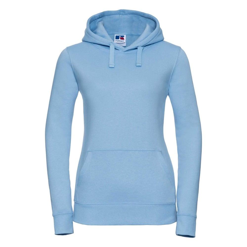 Bluzy - Damska bluza bez zamka Authentic - Russell R-265F-0 - Sky Blue - RAVEN - koszulki reklamowe z nadrukiem, odzież reklamowa i gastronomiczna