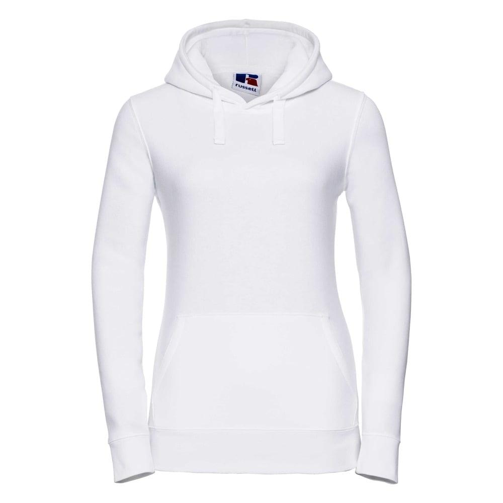 Bluzy - Damska bluza bez zamka Authentic - Russell R-265F-0 - White - RAVEN - koszulki reklamowe z nadrukiem, odzież reklamowa i gastronomiczna