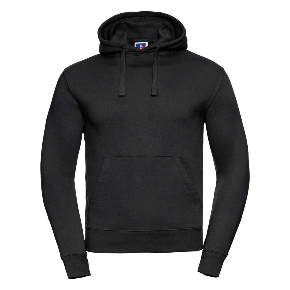 Bluzy - Męska bluza bez zamka Authentic - Russell R-265M-0 - Black - RAVEN - koszulki reklamowe z nadrukiem, odzież reklamowa i gastronomiczna