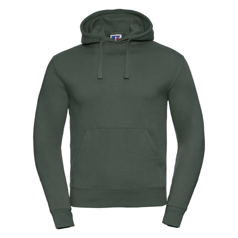 Bluzy - Męska bluza bez zamka Authentic - Russell R-265M-0 - Bottle Green - RAVEN - koszulki reklamowe z nadrukiem, odzież reklamowa i gastronomiczna