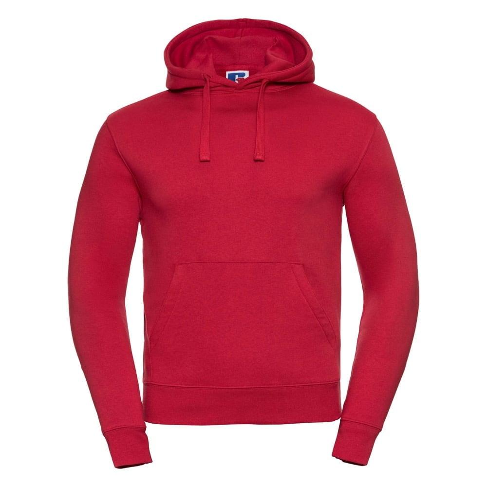 Bluzy - Męska bluza bez zamka Authentic - Russell R-265M-0 - Classic Red - RAVEN - koszulki reklamowe z nadrukiem, odzież reklamowa i gastronomiczna