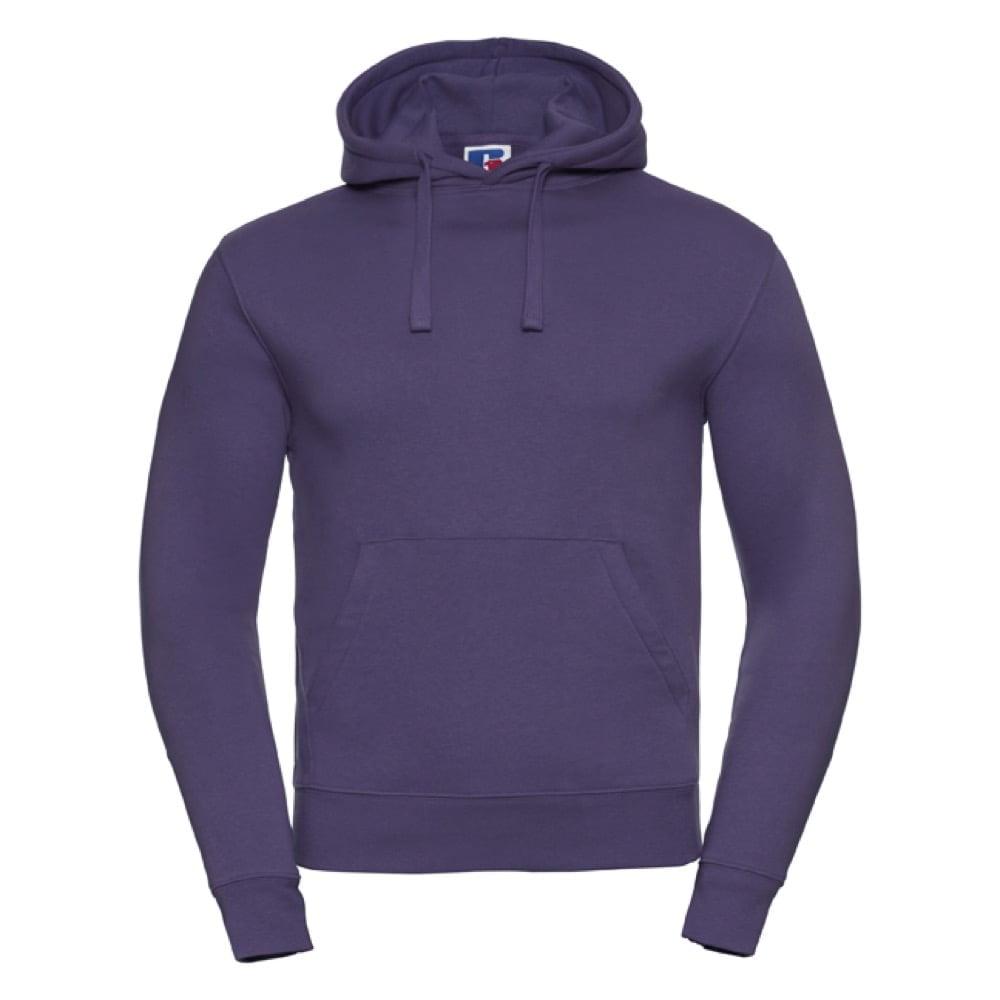 Bluzy - Męska bluza bez zamka Authentic - Russell R-265M-0 - Purple - RAVEN - koszulki reklamowe z nadrukiem, odzież reklamowa i gastronomiczna