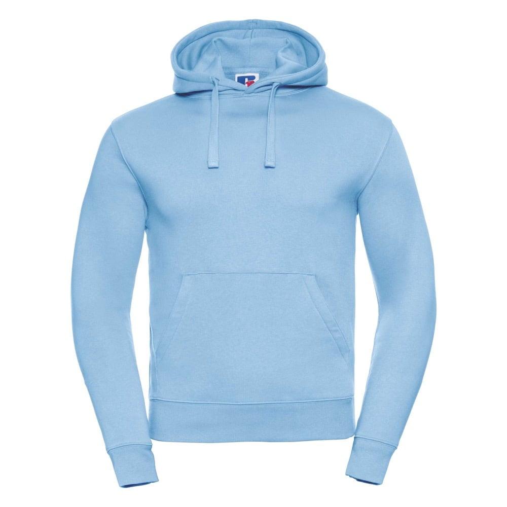 Bluzy - Męska bluza bez zamka Authentic - Russell R-265M-0 - Sky Blue - RAVEN - koszulki reklamowe z nadrukiem, odzież reklamowa i gastronomiczna