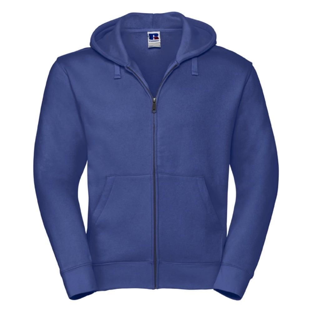 Bluzy - Męska bluza z kapturem Authentic - Russell R-266M-0 - Bright Royal - RAVEN - koszulki reklamowe z nadrukiem, odzież reklamowa i gastronomiczna
