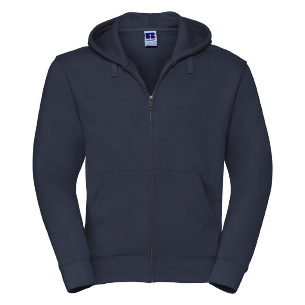 Bluzy - Męska bluza z kapturem Authentic - Russell R-266M-0 - French Navy - RAVEN - koszulki reklamowe z nadrukiem, odzież reklamowa i gastronomiczna