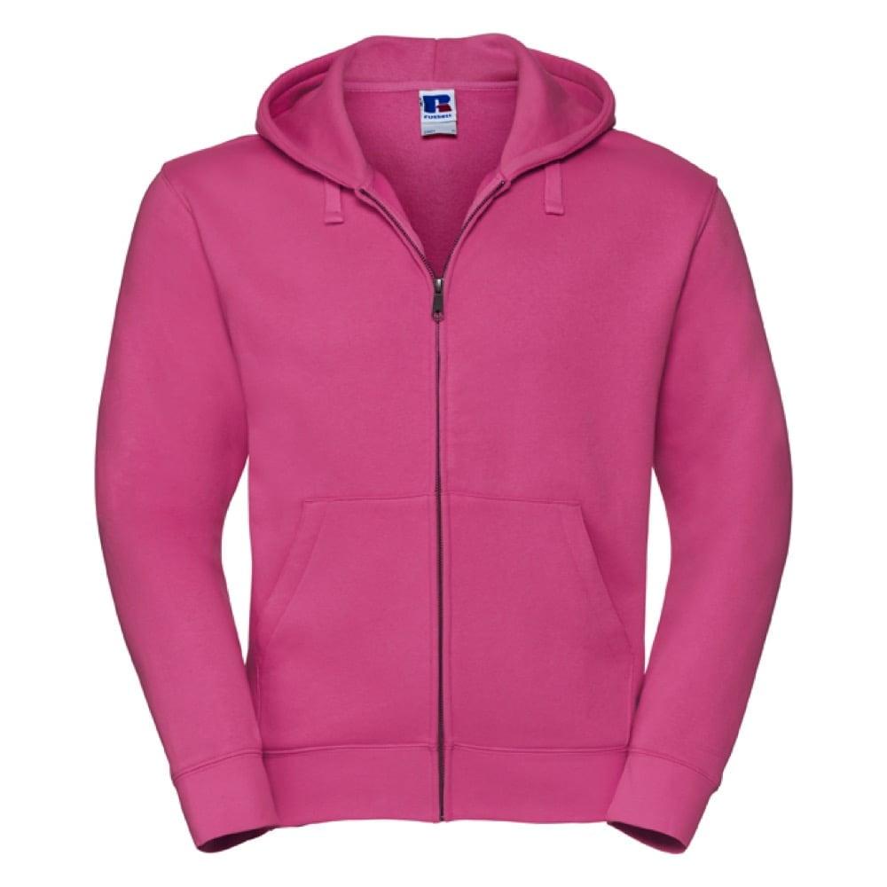 Bluzy - Męska bluza z kapturem Authentic - Russell R-266M-0 - Fuchsia - RAVEN - koszulki reklamowe z nadrukiem, odzież reklamowa i gastronomiczna