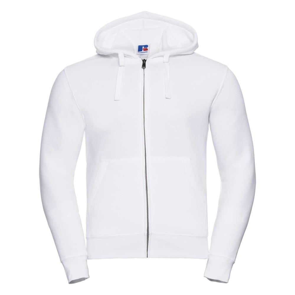 Bluzy - Męska bluza z kapturem Authentic - Russell R-266M-0 - White - RAVEN - koszulki reklamowe z nadrukiem, odzież reklamowa i gastronomiczna