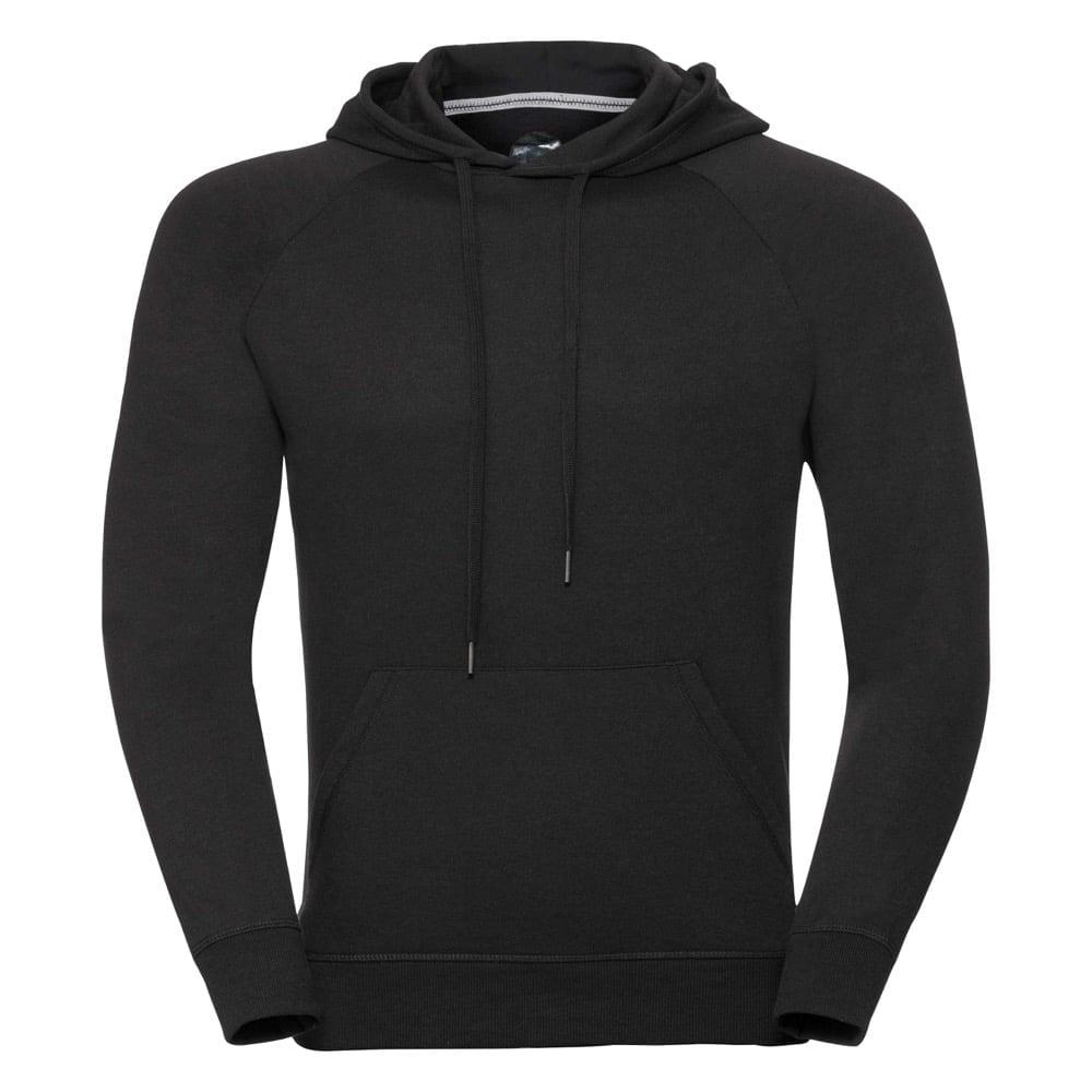 Bluzy - Męska bluza z kapturem HD - R-281M-0 - Black - RAVEN - koszulki reklamowe z nadrukiem, odzież reklamowa i gastronomiczna