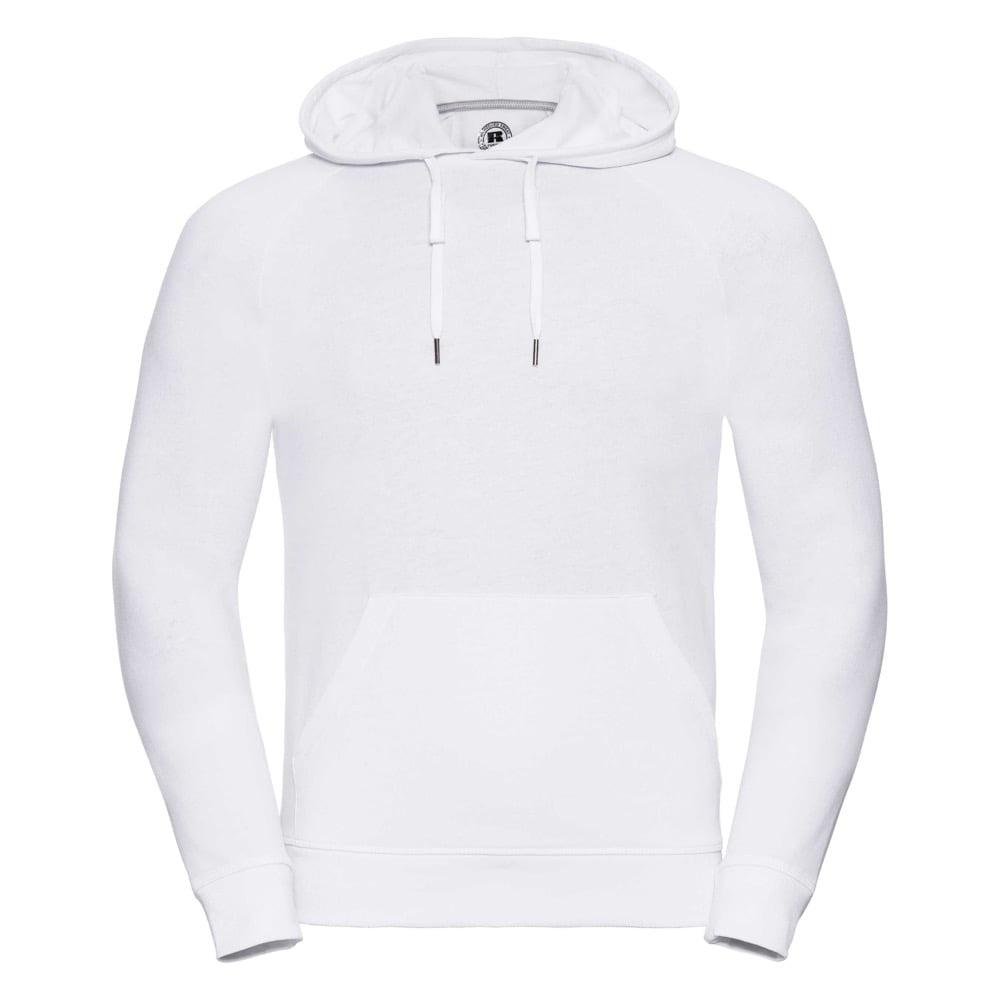 Bluzy - Męska bluza z kapturem HD - R-281M-0 - White - RAVEN - koszulki reklamowe z nadrukiem, odzież reklamowa i gastronomiczna