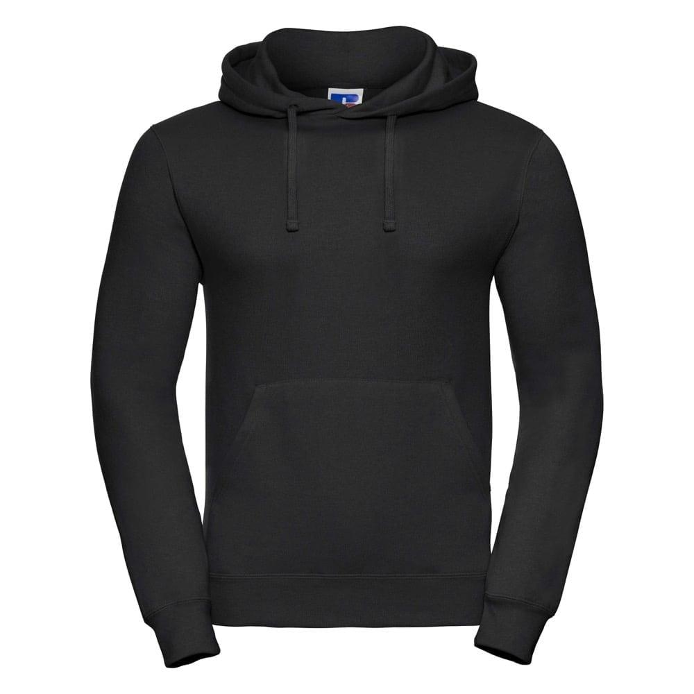 Bluzy - Bluza z kapturem hooded - Russell R-575M-0 - Black - RAVEN - koszulki reklamowe z nadrukiem, odzież reklamowa i gastronomiczna