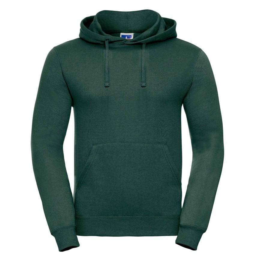 Bluzy - Bluza z kapturem hooded - Russell R-575M-0 - Bottle Green - RAVEN - koszulki reklamowe z nadrukiem, odzież reklamowa i gastronomiczna