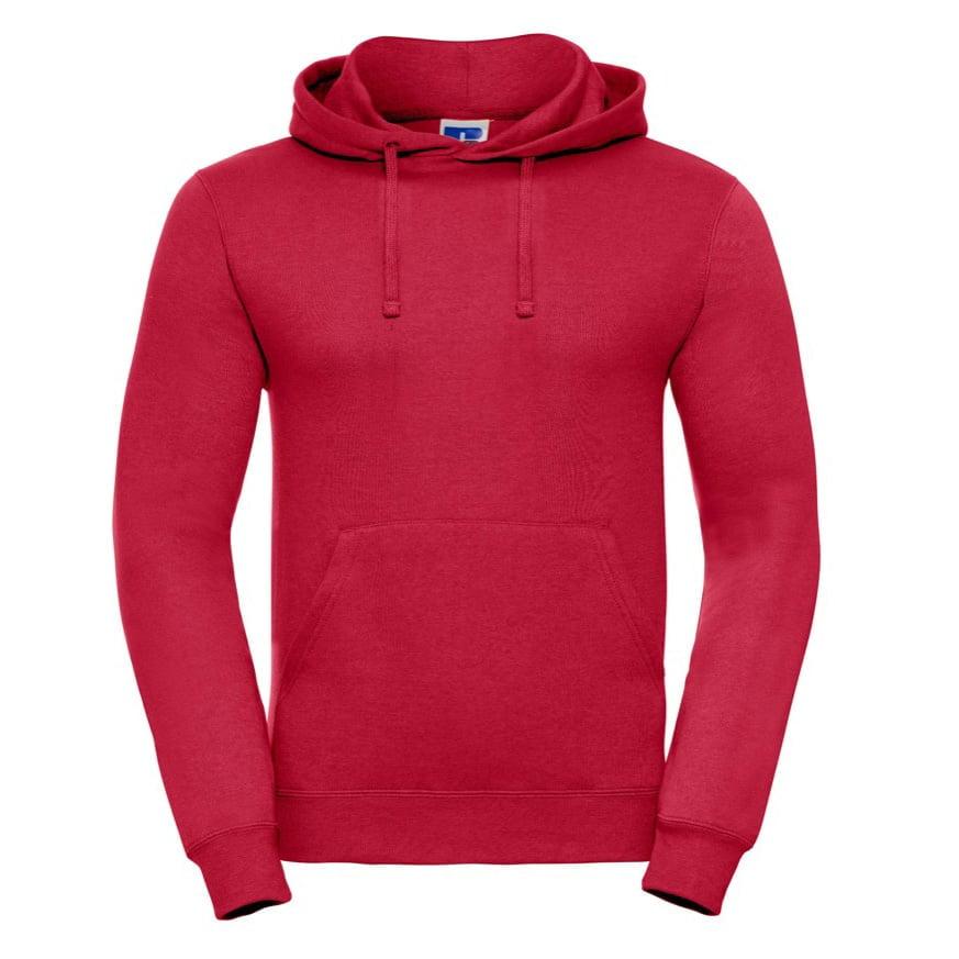 Bluzy - Bluza z kapturem hooded - Russell R-575M-0 - Classic Red - RAVEN - koszulki reklamowe z nadrukiem, odzież reklamowa i gastronomiczna