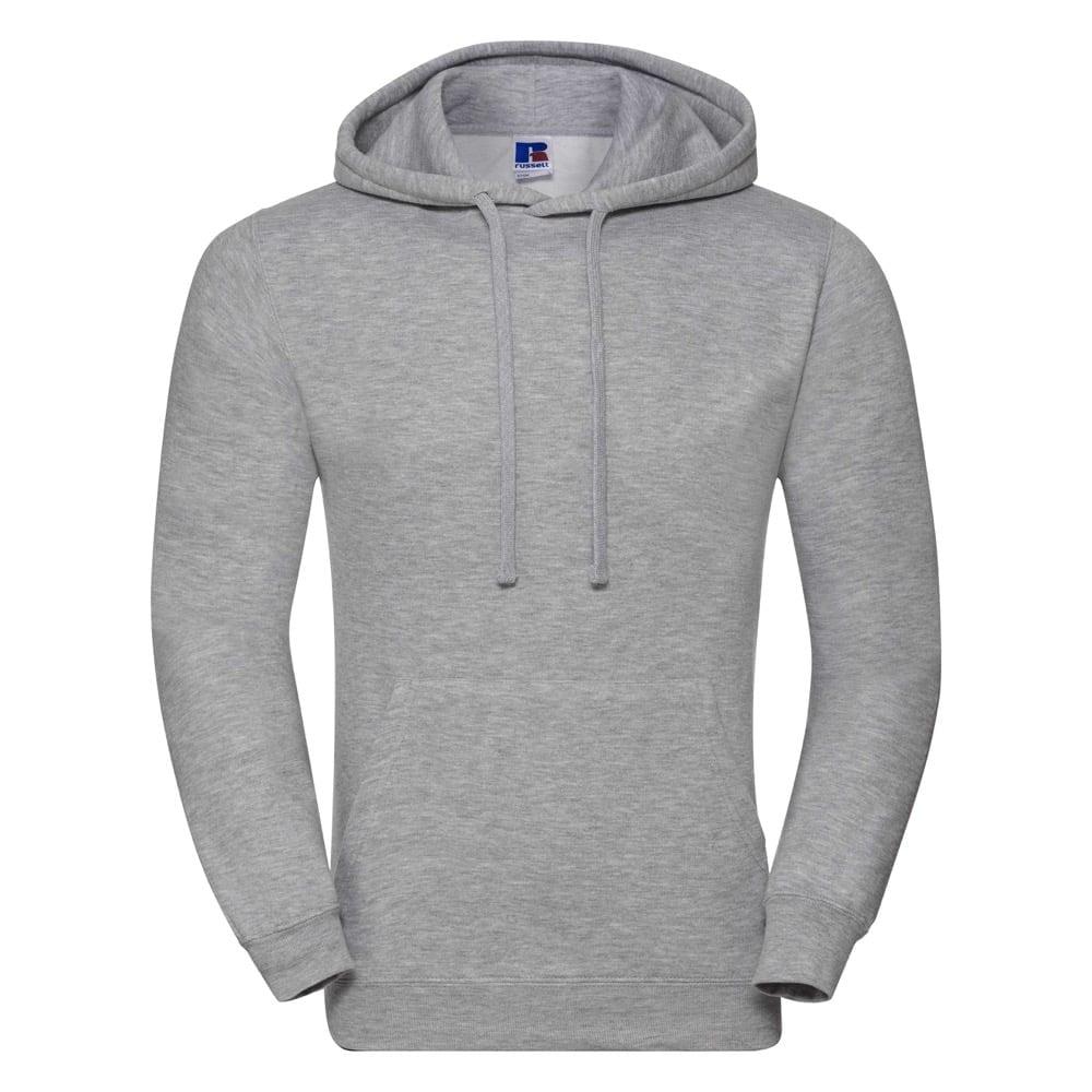 Bluzy - Bluza z kapturem hooded - Russell R-575M-0 - Light Oxford  - RAVEN - koszulki reklamowe z nadrukiem, odzież reklamowa i gastronomiczna