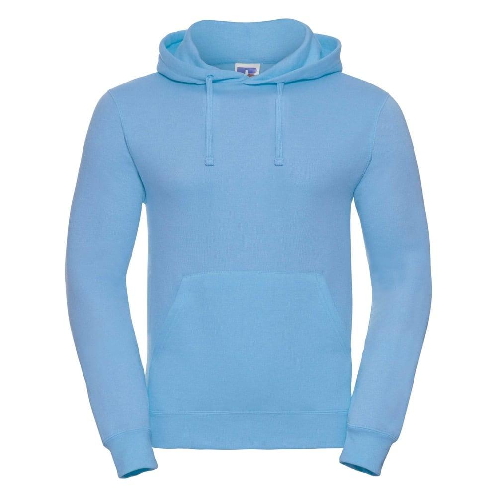 Bluzy - Bluza z kapturem hooded - Russell R-575M-0 - Sky Blue - RAVEN - koszulki reklamowe z nadrukiem, odzież reklamowa i gastronomiczna