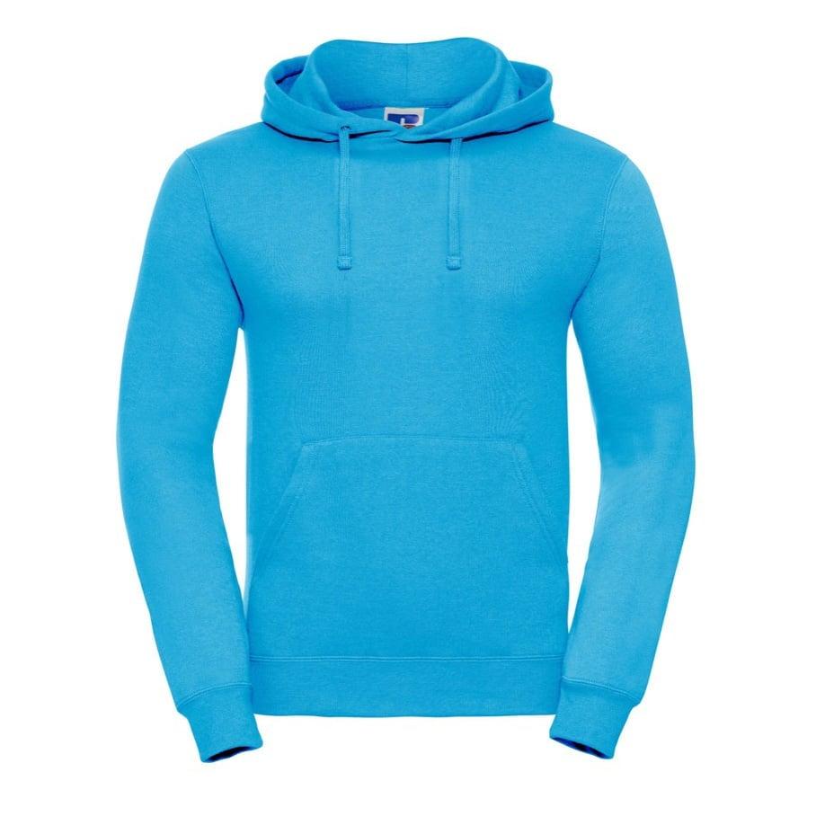 Bluzy - Bluza z kapturem hooded - Russell R-575M-0 - Turquoise - RAVEN - koszulki reklamowe z nadrukiem, odzież reklamowa i gastronomiczna