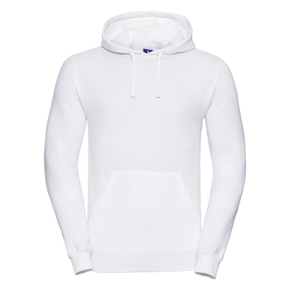 Bluzy - Bluza z kapturem hooded - Russell R-575M-0 - White - RAVEN - koszulki reklamowe z nadrukiem, odzież reklamowa i gastronomiczna