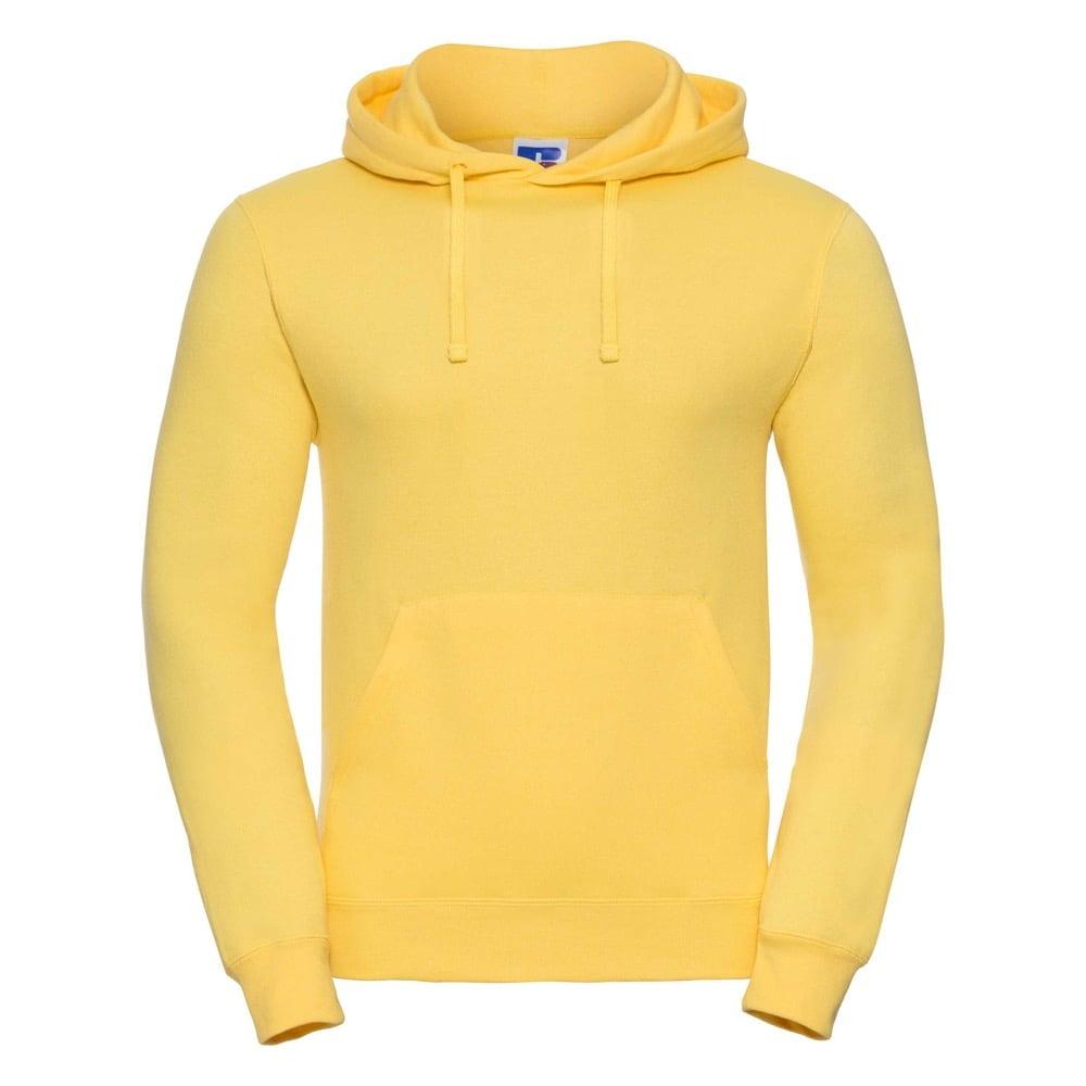 Bluzy - Bluza z kapturem hooded - Russell R-575M-0 - Yellow - RAVEN - koszulki reklamowe z nadrukiem, odzież reklamowa i gastronomiczna