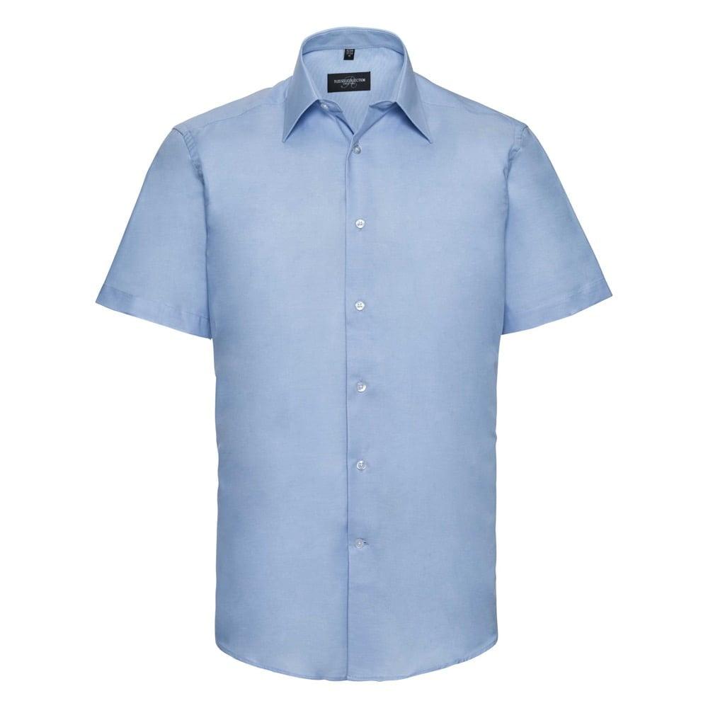 Męska taliowana koszula Oxford