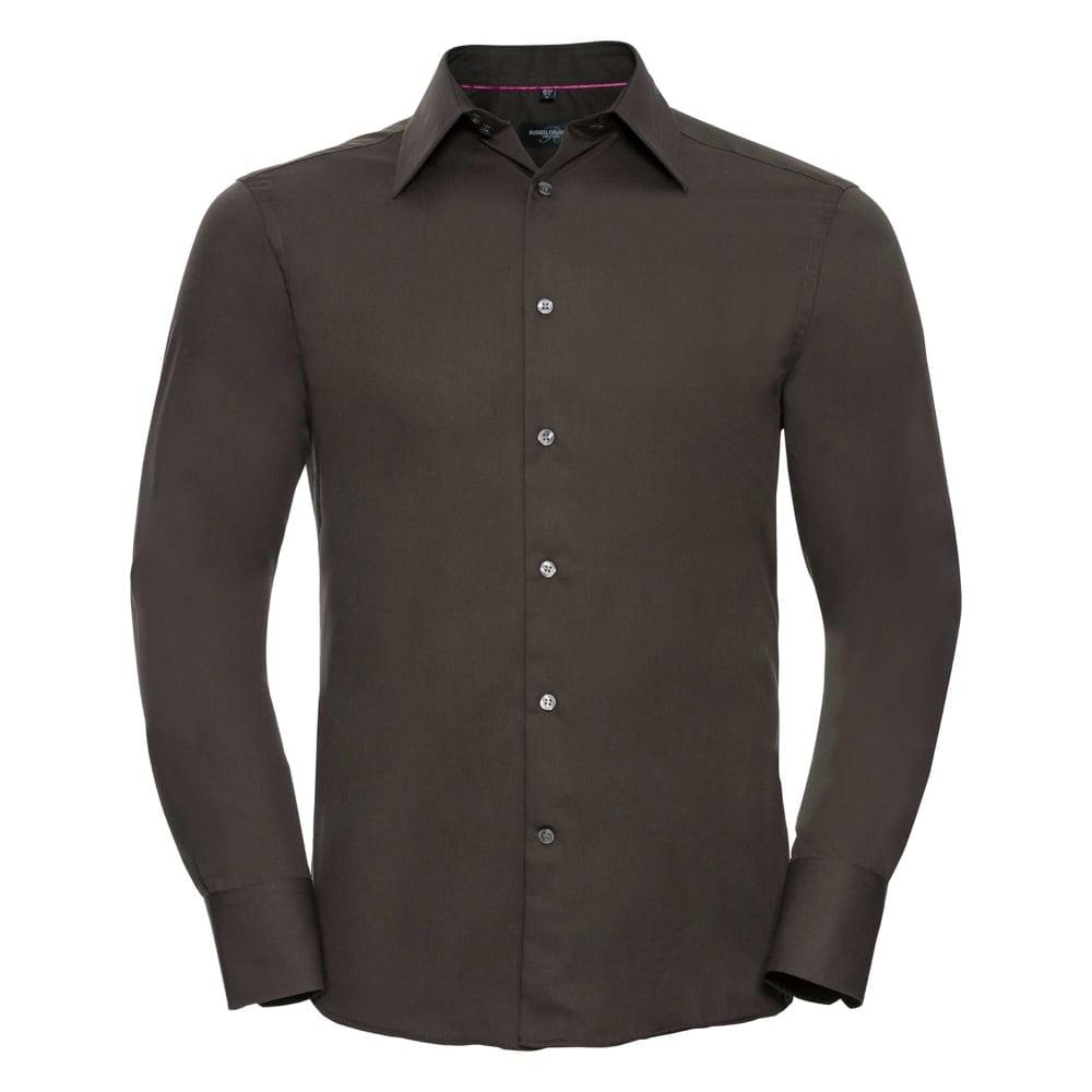 Męska dopasowana koszula Tencel®