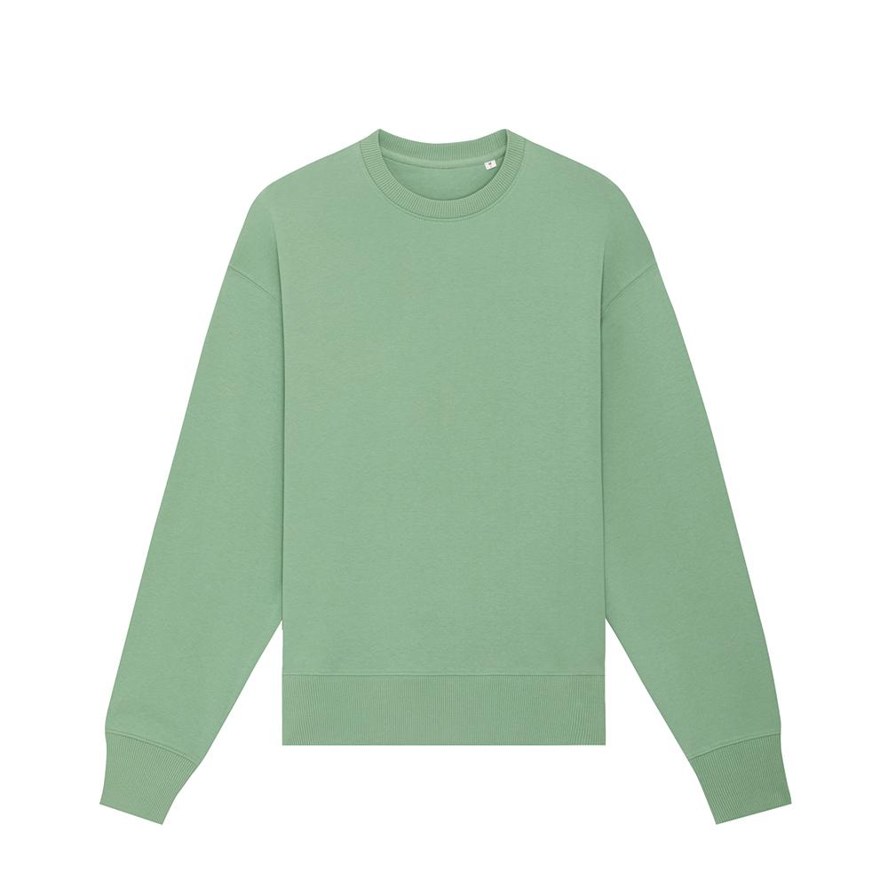 Bluzy - Bluza unisex Radder - STSU857 - Dusty Mint - RAVEN - koszulki reklamowe z nadrukiem, odzież reklamowa i gastronomiczna