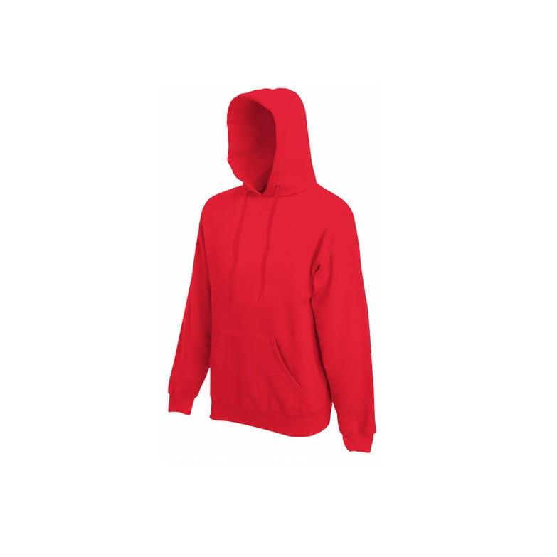 Bluzy - Bluza Premium Hooded - Fruit of the Loom 62-152-0 - Red - RAVEN - koszulki reklamowe z nadrukiem, odzież reklamowa i gastronomiczna