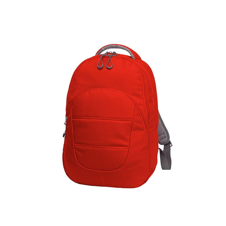 Torby i plecaki - Notebook-Backpack Campus - 1812213 - Red - RAVEN - koszulki reklamowe z nadrukiem, odzież reklamowa i gastronomiczna