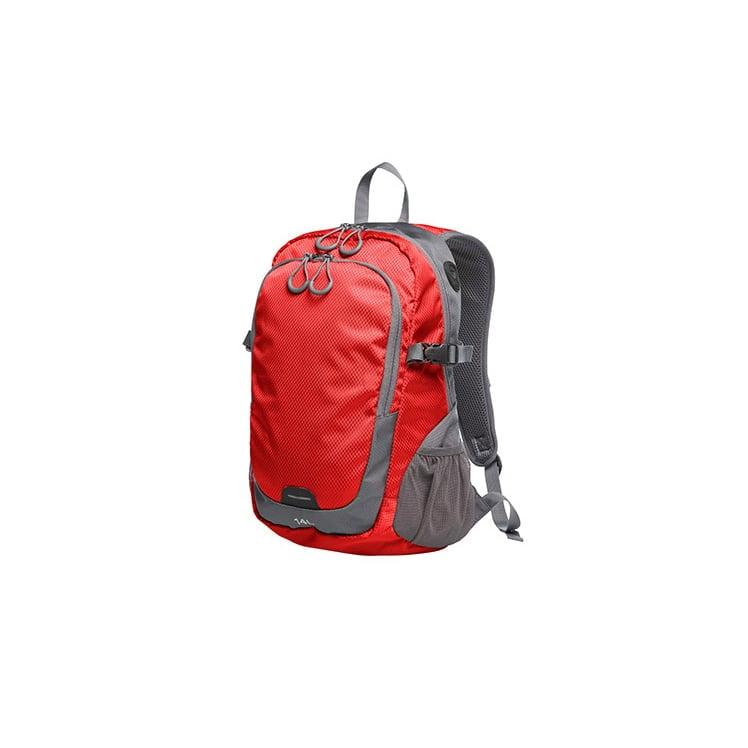 Torby i plecaki - Backpack Step M - 1813062 - Red - RAVEN - koszulki reklamowe z nadrukiem, odzież reklamowa i gastronomiczna