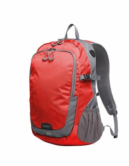 Torby i plecaki - Backpack Step L - 1813063 - Red - RAVEN - koszulki reklamowe z nadrukiem, odzież reklamowa i gastronomiczna