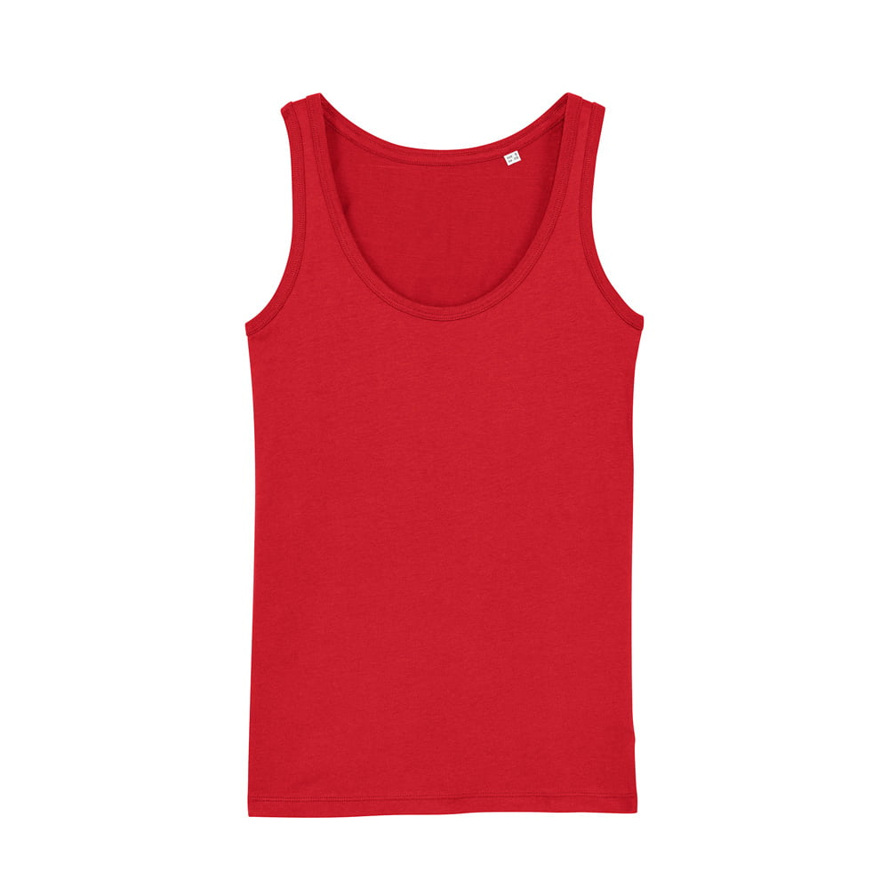 Koszulki T-Shirt - Damski Tank Top Stella Dreamer - STTW013 - Red - RAVEN - koszulki reklamowe z nadrukiem, odzież reklamowa i gastronomiczna