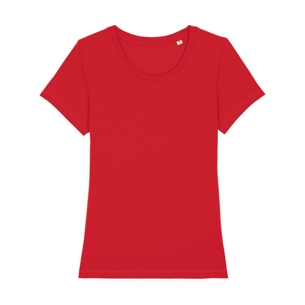 Koszulki T-Shirt - Damski T-shirt Stella Expresser - STTW032 - Red - RAVEN - koszulki reklamowe z nadrukiem, odzież reklamowa i gastronomiczna