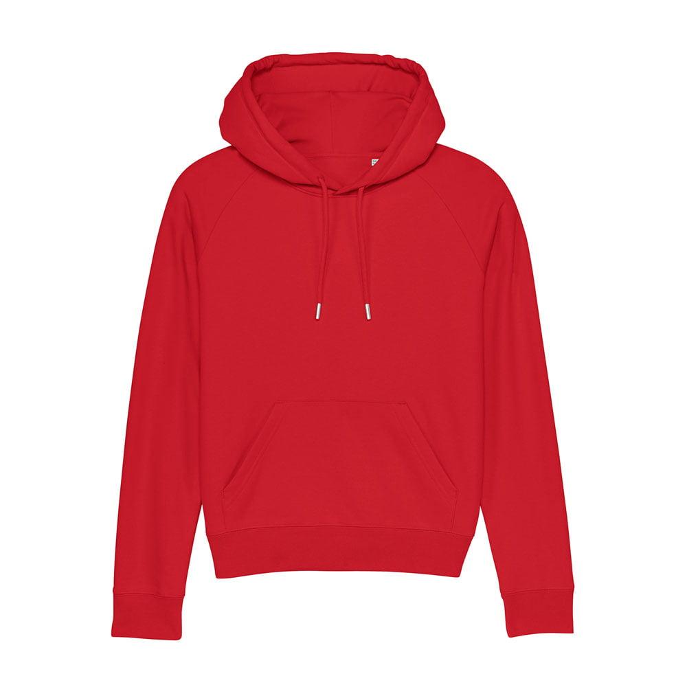 Bluzy - Damska Bluza Stella Trigger - STSW148 - Red - RAVEN - koszulki reklamowe z nadrukiem, odzież reklamowa i gastronomiczna