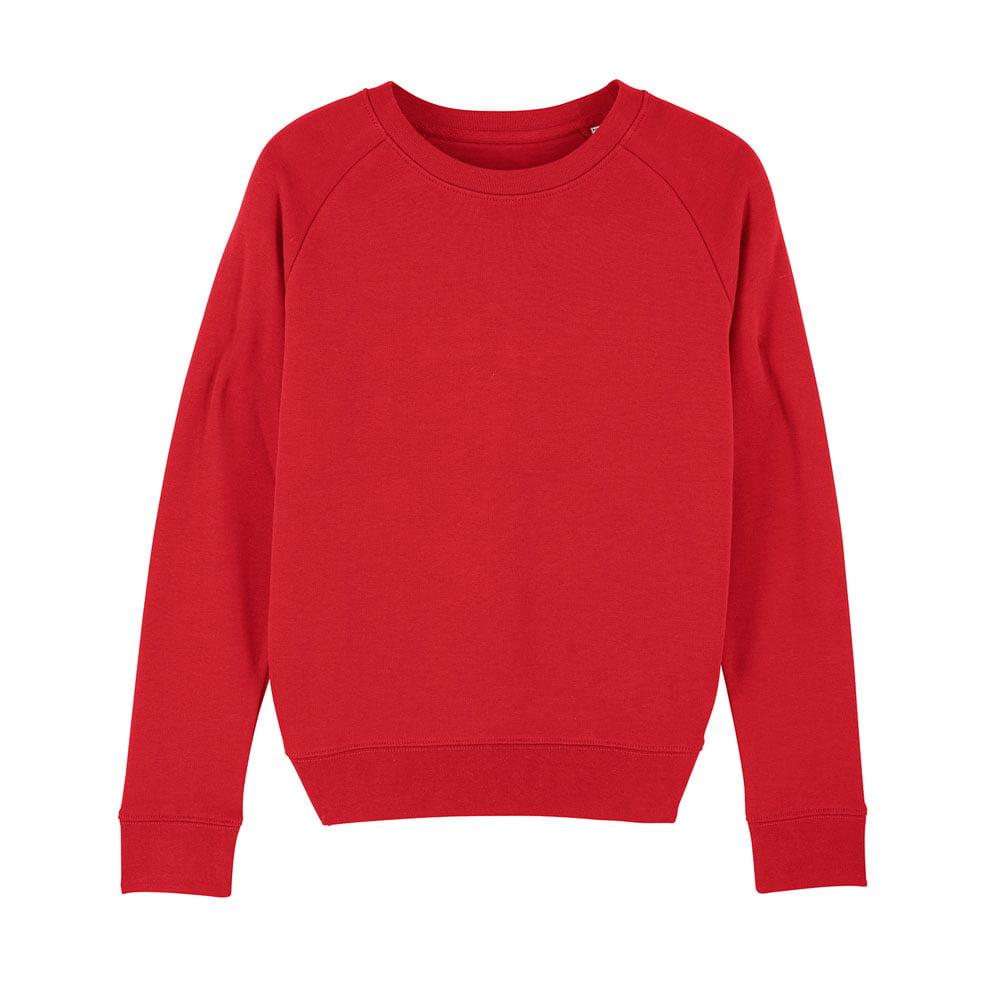 Bluzy - Damska Bluza Stella Tripster - STSW146 - Red - RAVEN - koszulki reklamowe z nadrukiem, odzież reklamowa i gastronomiczna