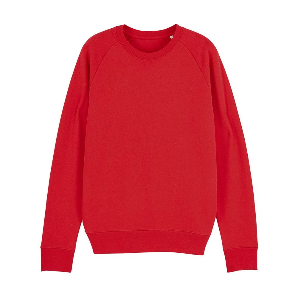 Bluzy - Męska Bluza Stanley Stroller - STSM567 - Red - RAVEN - koszulki reklamowe z nadrukiem, odzież reklamowa i gastronomiczna