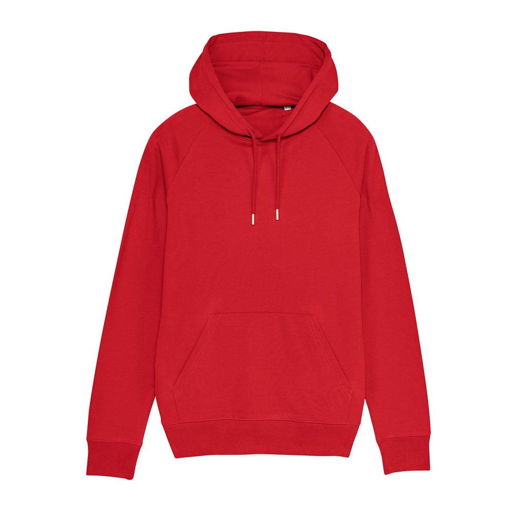 Bluzy - Męska Bluza Stanley Flyer - STSM565 - Red - RAVEN - koszulki reklamowe z nadrukiem, odzież reklamowa i gastronomiczna