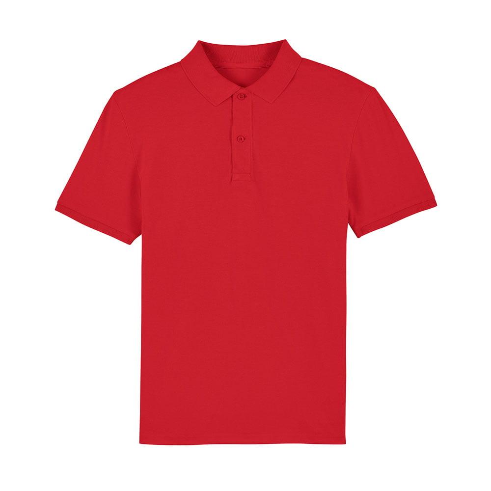 Koszulki Polo - Męska koszulka Polo Stanley Dedicator - STPM563 - Red - RAVEN - koszulki reklamowe z nadrukiem, odzież reklamowa i gastronomiczna