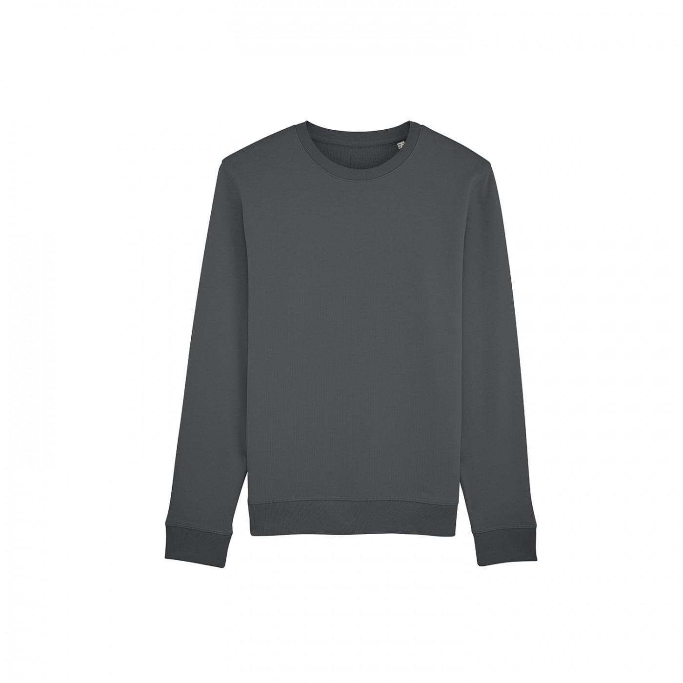 Bluzy - Bluza Crewneck Rise - Stanley/Stella STSU811 - Anthracite - RAVEN - koszulki reklamowe z nadrukiem, odzież reklamowa i gastronomiczna