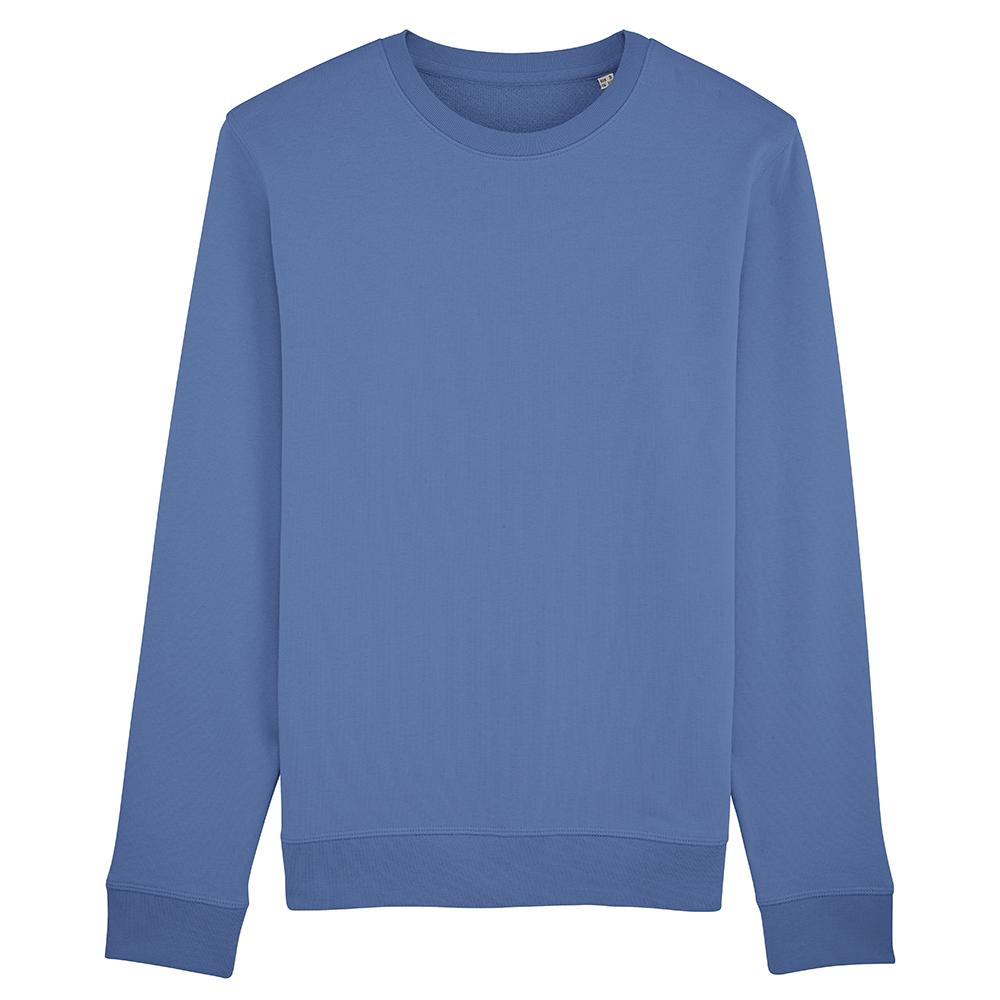 Bluzy - Bluza Crewneck Rise - Stanley/Stella STSU811 - Bright Blue - RAVEN - koszulki reklamowe z nadrukiem, odzież reklamowa i gastronomiczna