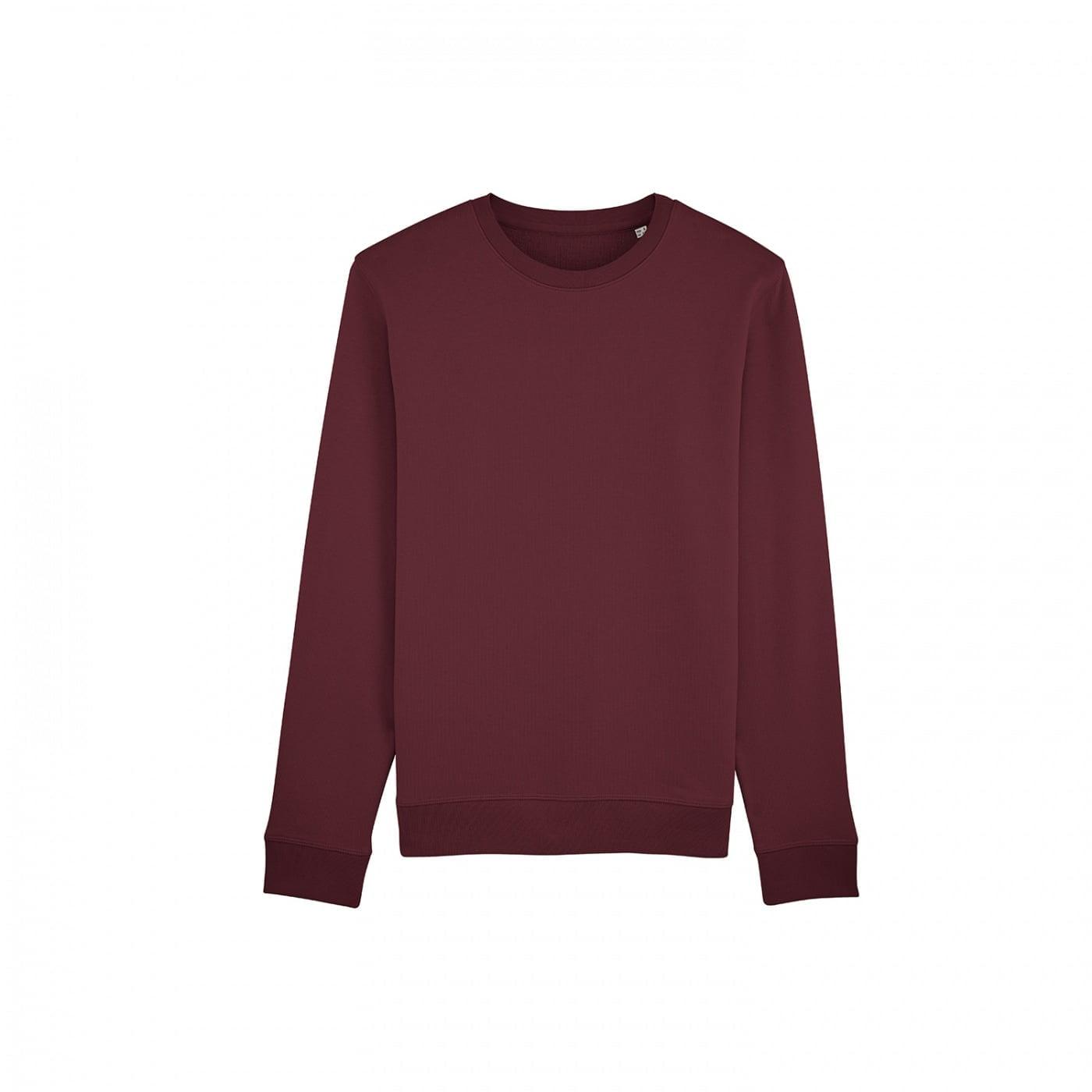 Bluzy - Bluza Crewneck Rise - Stanley/Stella STSU811 - Burgundy - RAVEN - koszulki reklamowe z nadrukiem, odzież reklamowa i gastronomiczna